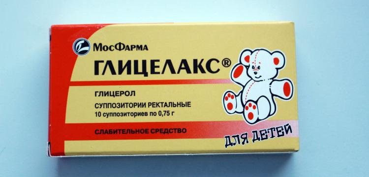 Свечи от запора для детей - применение средства Глицелакс