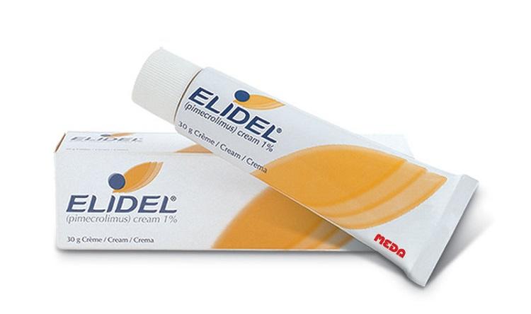 Элидел - негормональная мазь от аллергии для детей