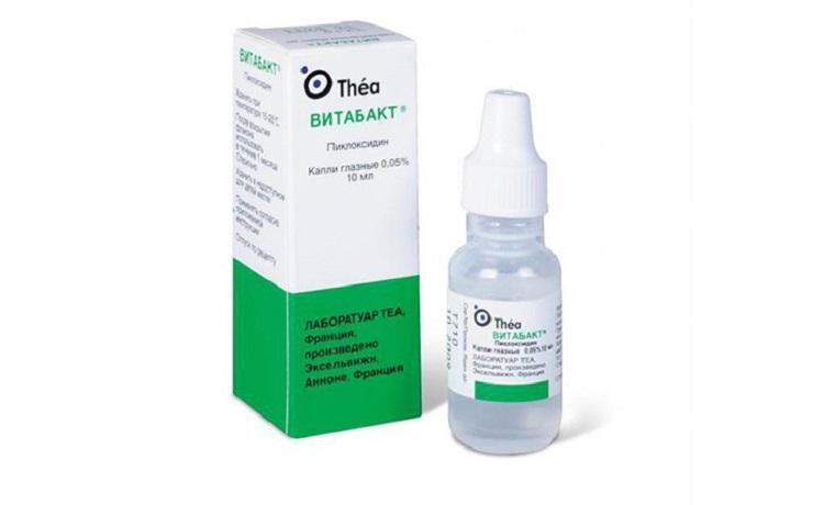 Глазные капли Витабакт для детей и их применение при красных глазах