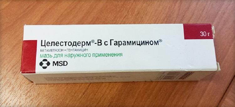 Гормональная мазь Целестодерм при лечении дерматита у детей