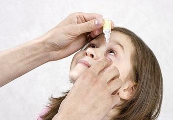 Какие капли применяют от ячменя на глазу у детей