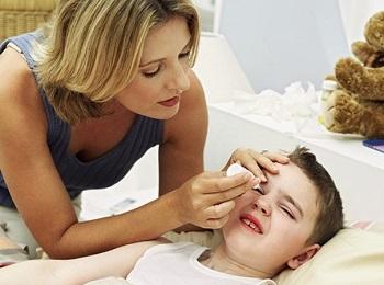 Лечение красных глаз у ребенка с гнойными выделениями