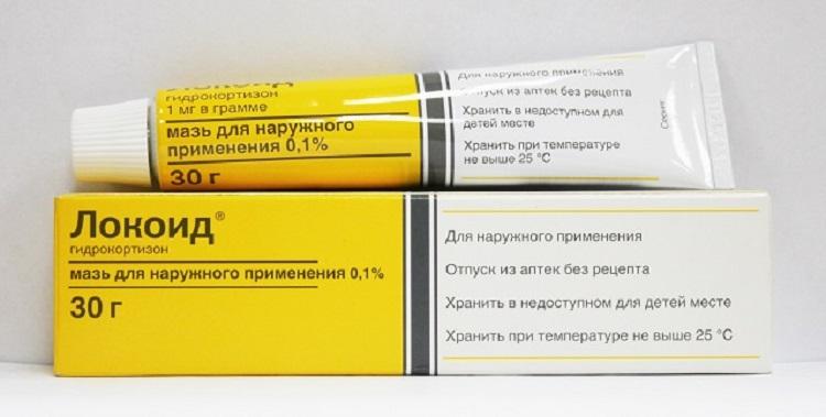 Локоид - гормональная мазь при дерматите у детей