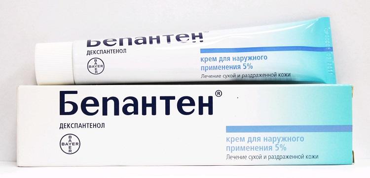 Противоаллергическая мазь Бепантен при аллергии у детей