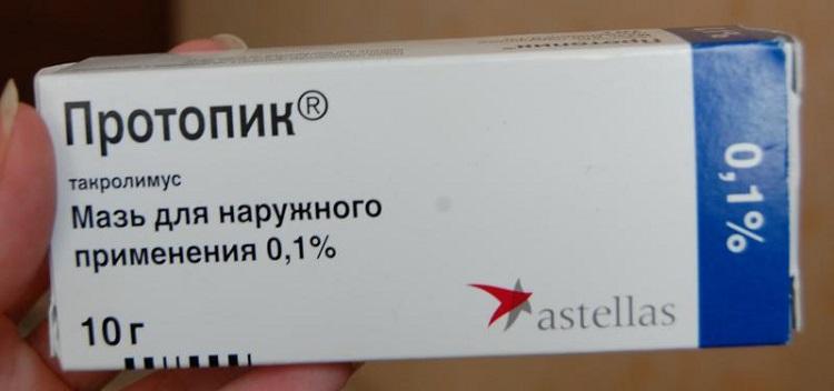 Протопик - противоаллергическая мазь от дерматита у детей