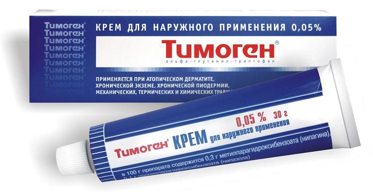 Тимоген - мазь от аллергии для детей