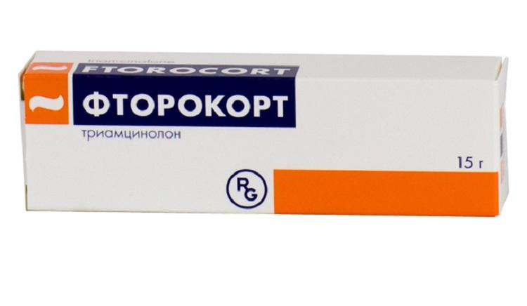 Мазь Фторокорт при лечении диатеза у детей