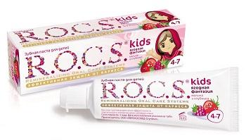 Рекомендации родителям при использовании зубного геля Рокс для детей