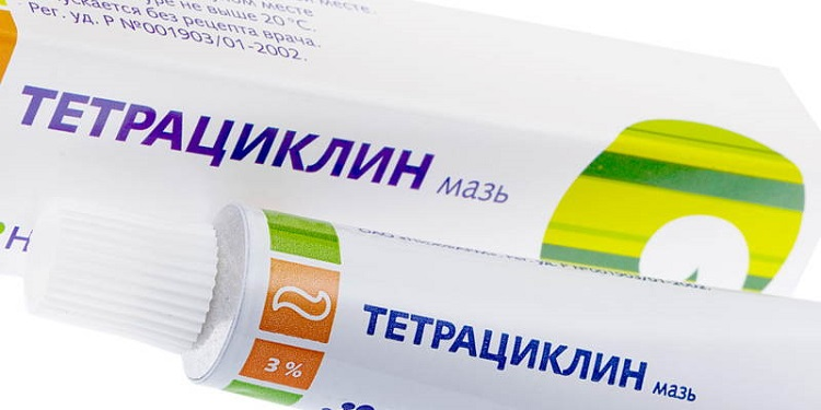 Тетрациклиновая мазь при лечении заболеваний у детей